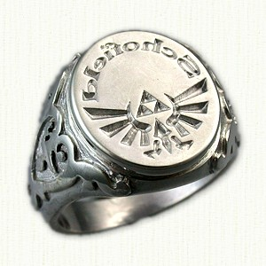 in the garden real signet ring or a not so